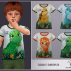Toddler Boy Sims 4 T Shirt RPL75