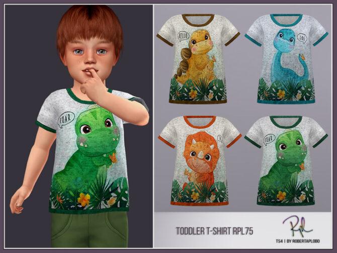 Sims 4 Toddler Boy T Shirt RPL75 by RobertaPLobo at TSR