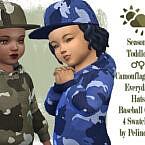 Toddler Camouflage Cap by Pelineldis 1