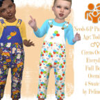Toddler Circus Overall by Pelineldis 1