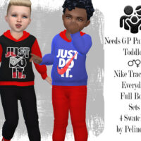 Toddler Tracksuit by Pelineldis Sims 4