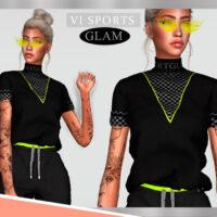 Top SPORTGLAM VI by Viy Sims 4 CC