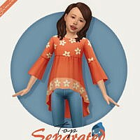 Top Separated Kids Sims 4
