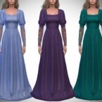 Verona Gown by Pipco Sims 4 CC