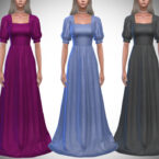Verona Sims 4 Gown II by Pipco