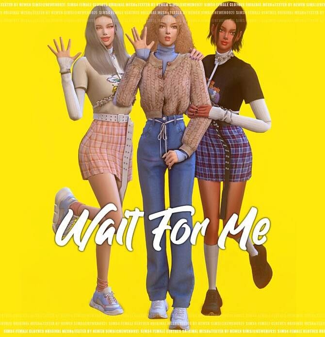 Wait For Me Sims 4 Female Clothes