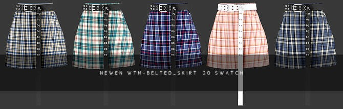 Sims 4 Wait For Me Female Clothes Set by NEWEN