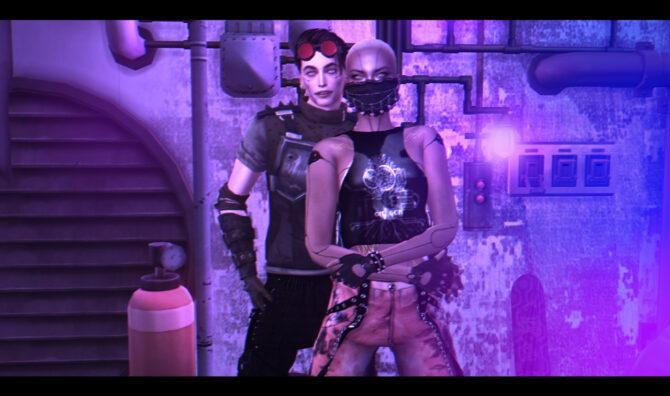 Sims 4 We posepack at Rethdis love