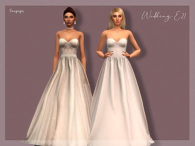 Wedding Dress Sims 4