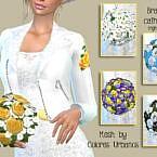 Wedding bouquet for Sims 4 by Birba32