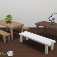Winter Scene Addon Set Sims 4