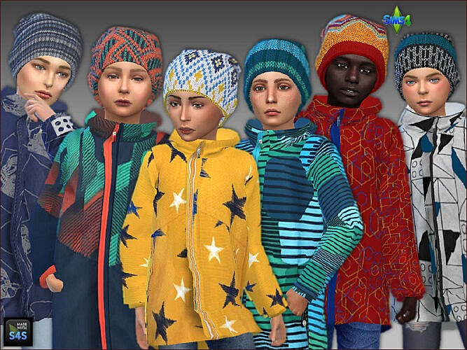 Sims 4 Winter clothes for boys