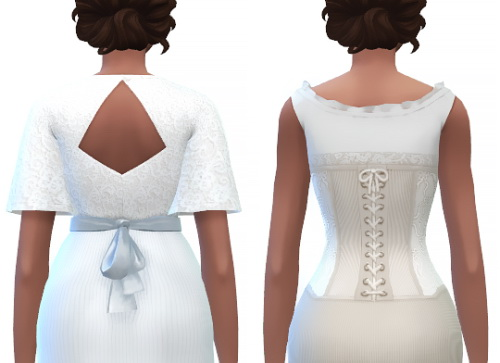 Sims 4 Boudoir belle set at Gilded Ghosts