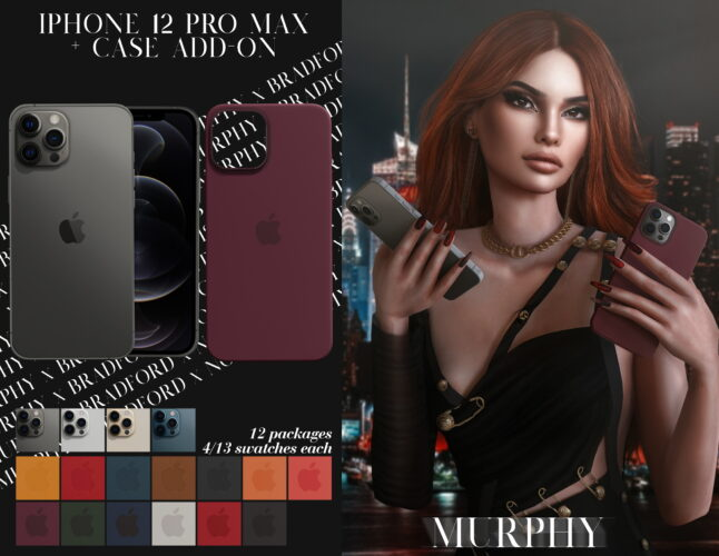 iPhone 12 Pro Max Case Sims 4