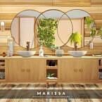Marissa Bathroom By Melapples