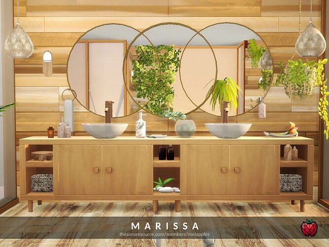 Marissa Bathroom By Melapples