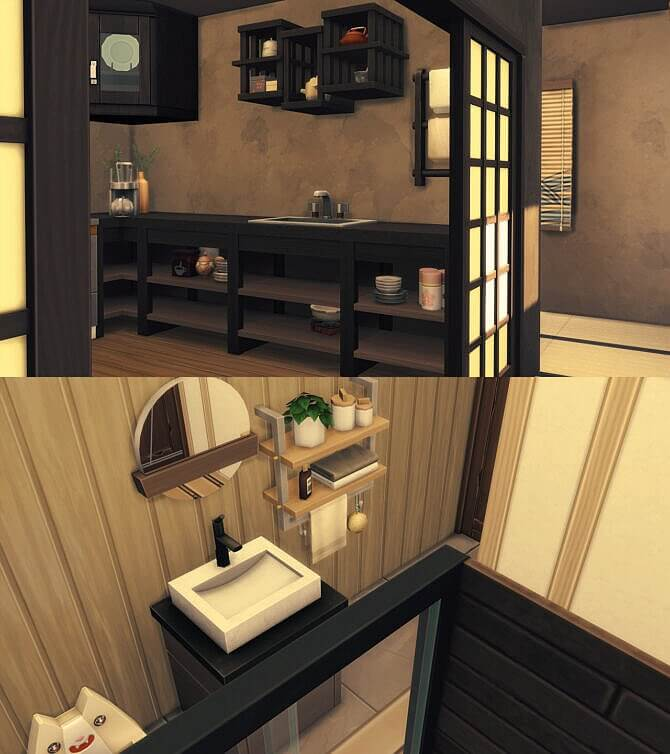 Sims 4 Serene Japanese Home at Praline Sims