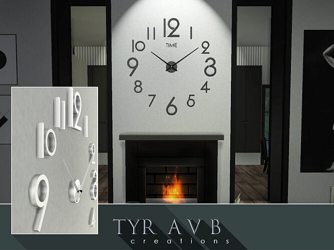 3d Wall Clock By Tyravb