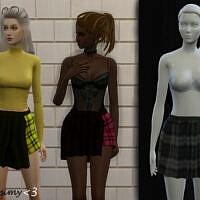 Half Skirt By Chrimsimy