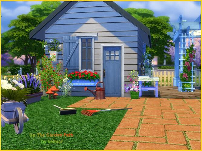 Up The Garden Path Garden Set By Seimar8