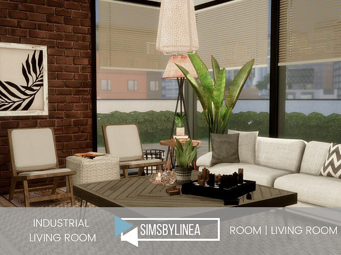 Industrial Living Room Ii By Simsbylinea