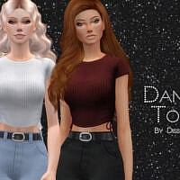 Dana Top By Dissia