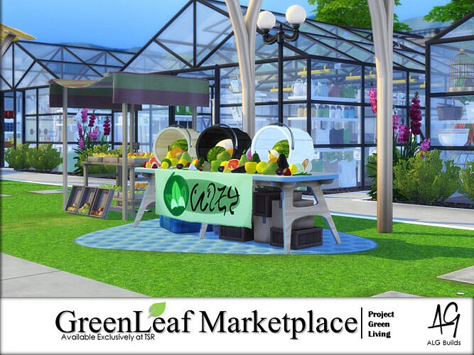 Greenleaf Marketplace By Algbuilds
