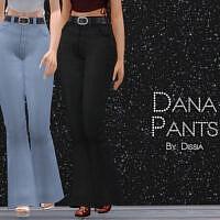 Dana Pants By Dissia