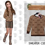 Sweater C329 By Turksimmer