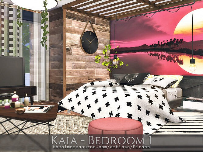 Kaia Bedroom 1 By Rirann