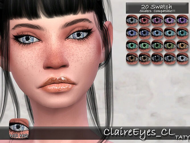 Claire Eyes Cl By Tatygagg