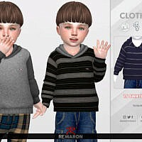 Simple Hoodie For Toddler 01 By Remaron