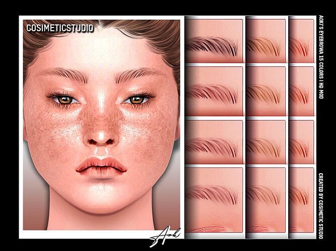 Eyebrows Aoki By Cosimetic
