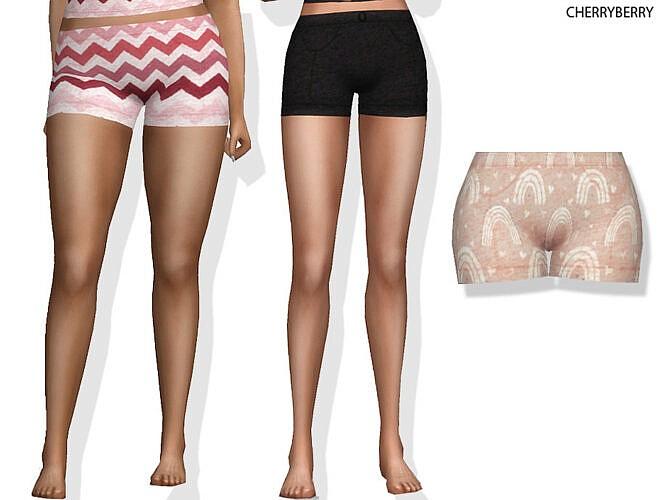 Cozy Pj Shorts By Cherryberrysim
