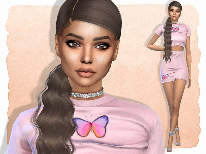 Sims 4 Veronica Santiago by Jolea at TSR