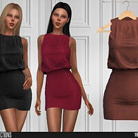 618 Short Dress By Shakeproductions