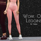 Work Out Leggings By Dissia