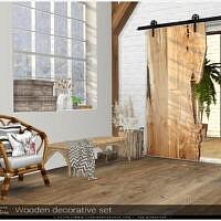Wood Decorative Set By Severinka