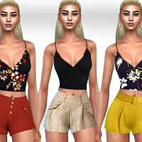 Summer Style Cotton Shorts By Saliwa