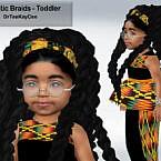 Dramatic Braids Hair For Toddler By Drteekaycee