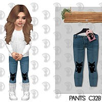 Pants C328 By Turksimmer