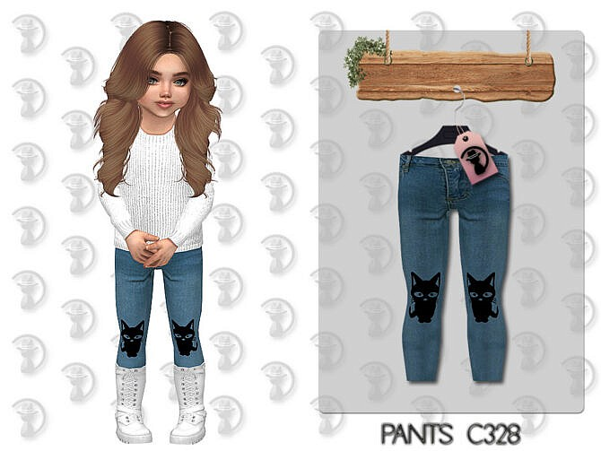 Sims 4 Pants C328 by turksimmer at TSR