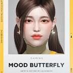 Earrings Mood Butterfly