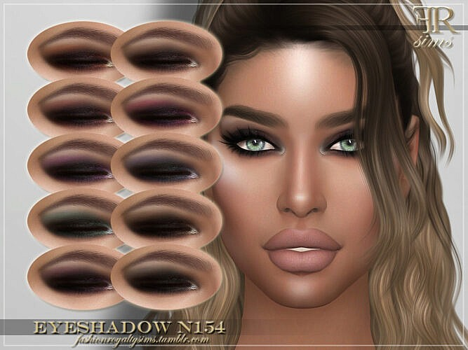 Frs Eyeshadow N154 By Fashionroyaltysims
