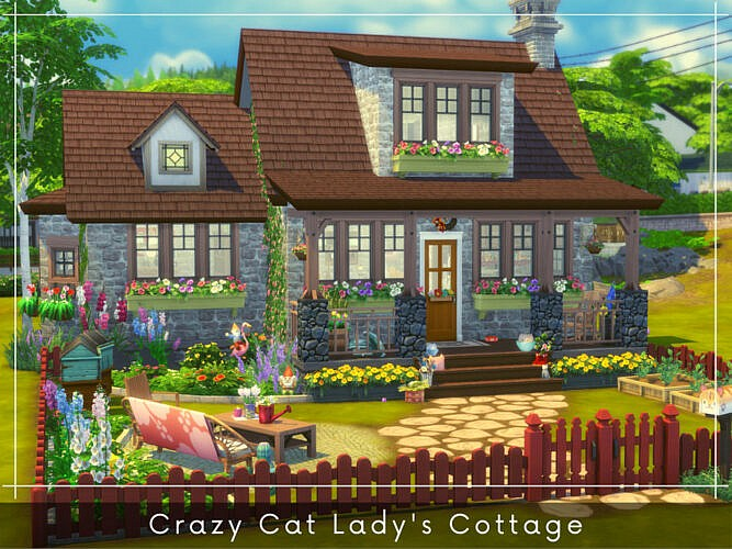 Crazy Cat Lady's Cottage By A.lenna