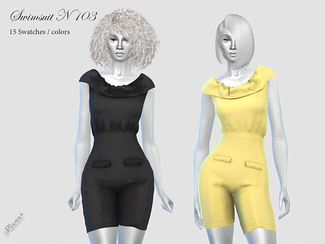 Sims 4 JUMPSUIT N34 by pizazz at TSR