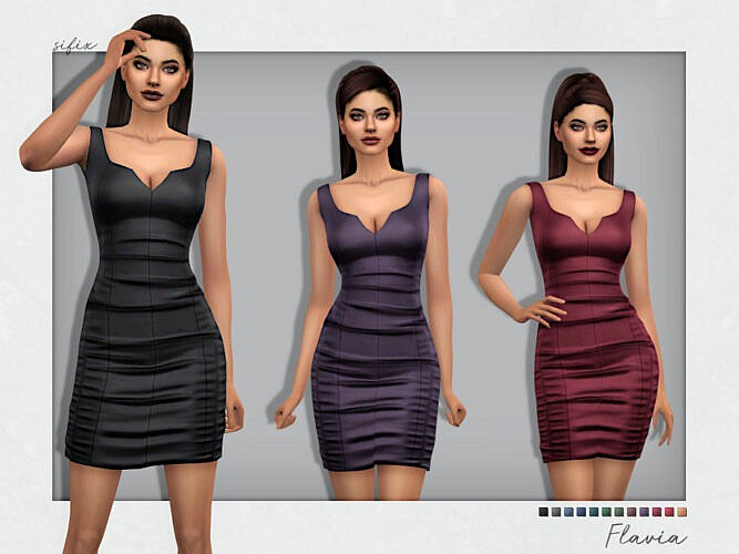 Flavia Party Dress By Sifix