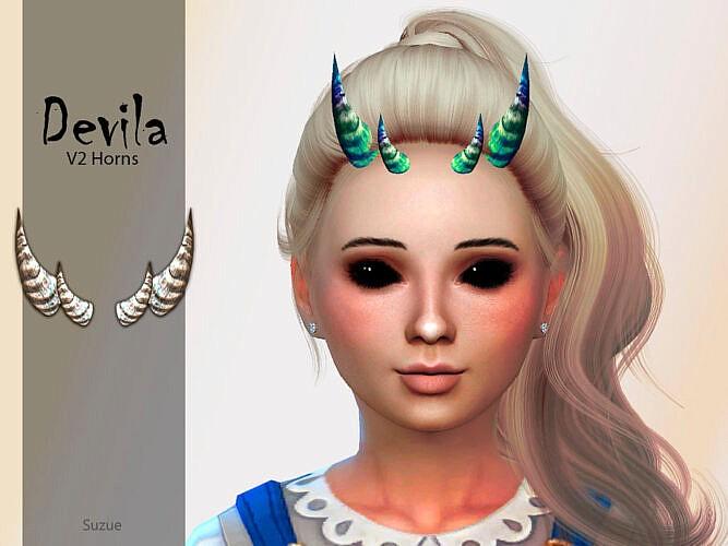 Devila Child Horns V2 By Suzue