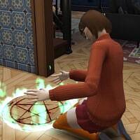Pentacle Circle Paranormal Stuff Override By Adranfloran