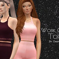 Work Out Top By Dissia